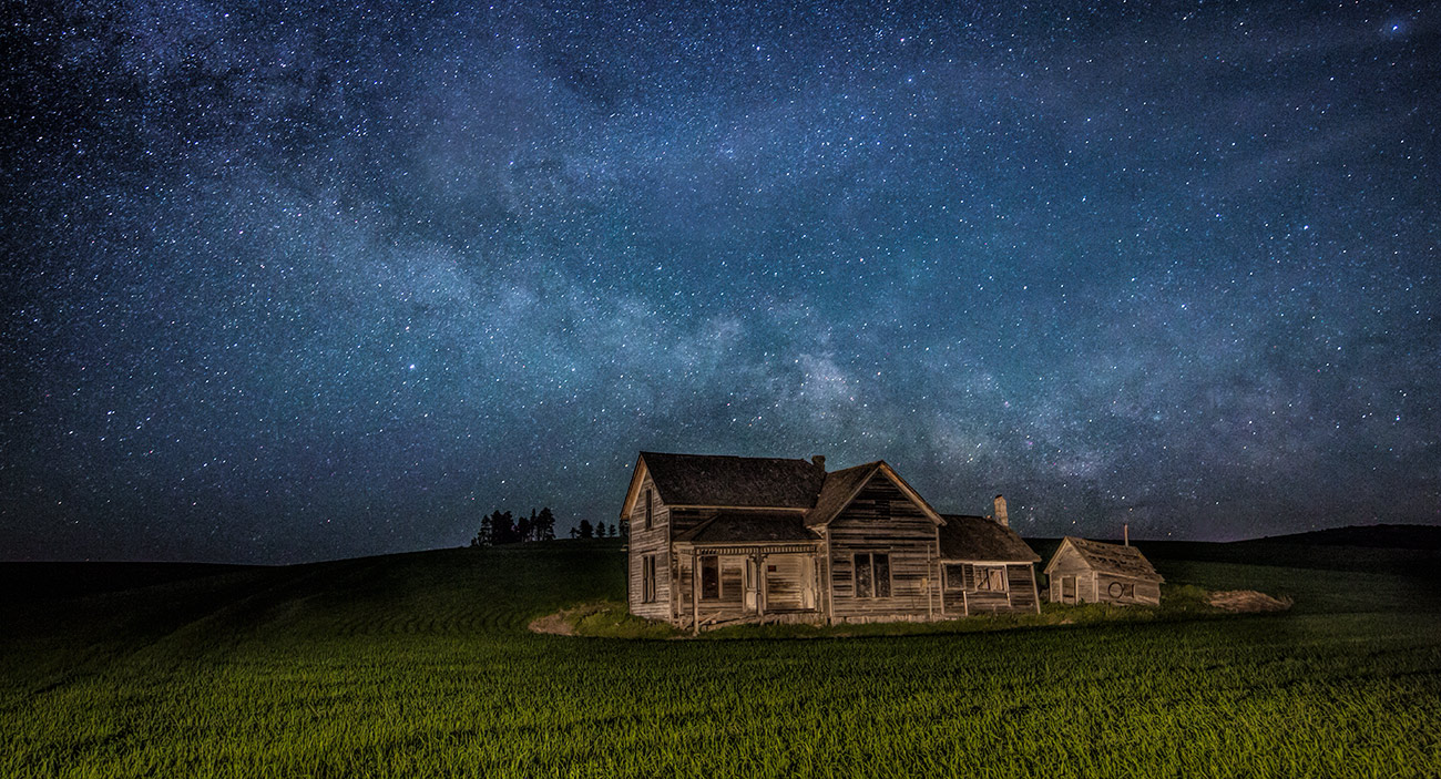 Weber house in the Palouse