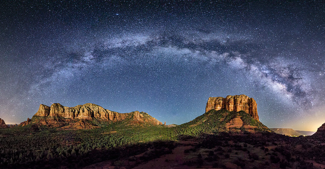 Sedona Milky Way Panorama workshop 2018