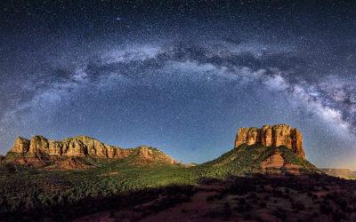 Sedona Milky Way Panorama workshop 2018