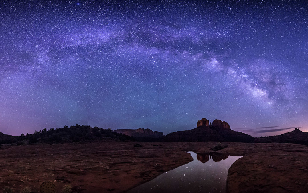Photoshop for Photographers & Milky Way  workshop in Sedona 2019